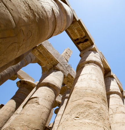 Ancient ruins of Karnak temple