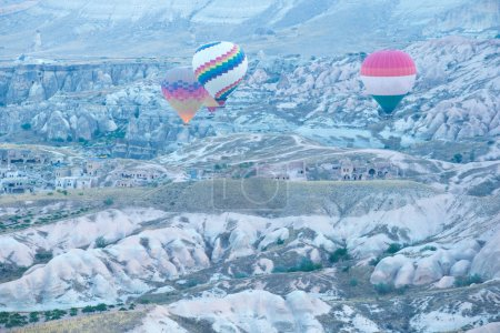 balloons over Cappadocia in Turkey