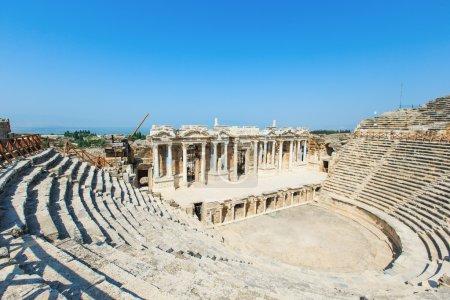 Amphitheater in Pamukkale Turkey