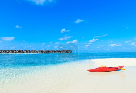 beach with Maldives