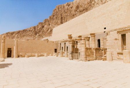 The temple of Hatshepsut, Egypt