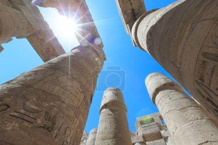 ancient Karnak temple