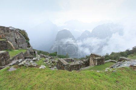 ancient Machu Picchu