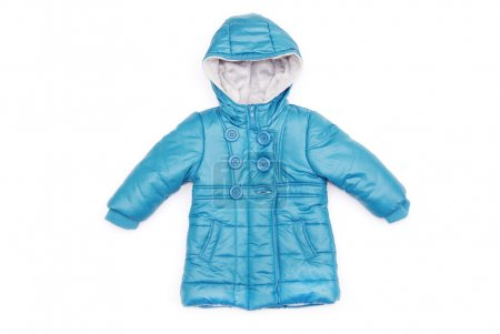 Blue children's jacket