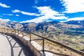 beautiful landscape in Andes