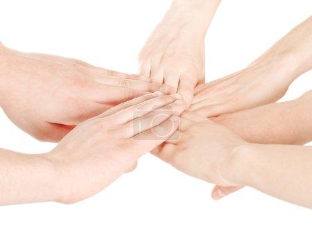 United human hands