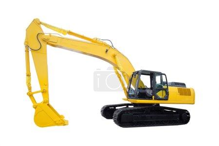 The image of excavator