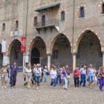 MANTUA, ITALY - JULY, 23, 2016: Ducal Palace in Ma...