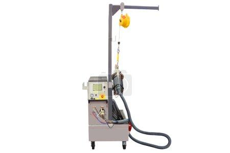 Welding machine isolated