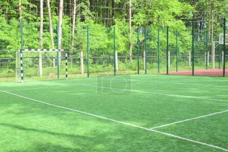 Foto de La imagen de una puertas de mini-futbol - Imagen libre de derechos