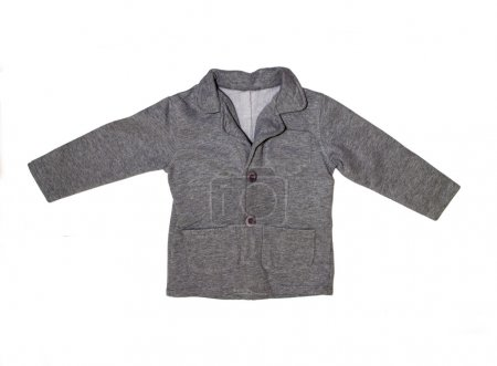 Gray children's jacket