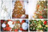 Vánoční dovolená koláž