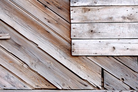 Old planks with copyspace