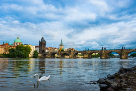 Prague ,Charles bridge