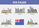 Cities in New Zealand Famous Places New Zealand cities