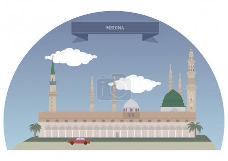 Medina, city and the capital of the Al Madinah Reg...