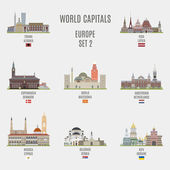World capitalsFamous Places