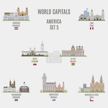 World capitals.Famous Places