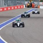 Постер, плакат: Nico Rosberg of Mercedes AMG Petronas Formula One Sochi Russia