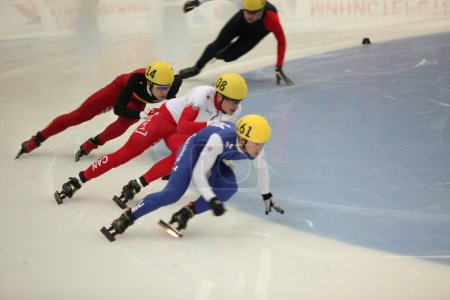 Short Track Speed Skating sportsmen