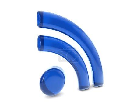 balloon RSS symbol