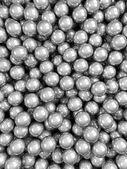 Balls grey glossy vertical