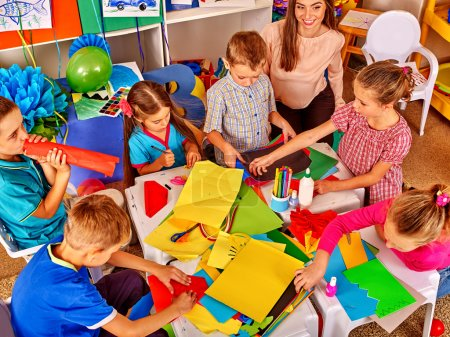 kids in beginner school