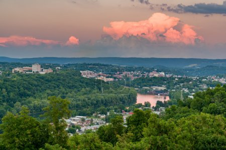 City of Morgantown in West Virginia