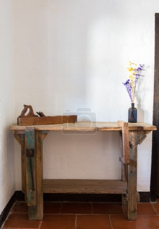 Traditional woodworkers bench