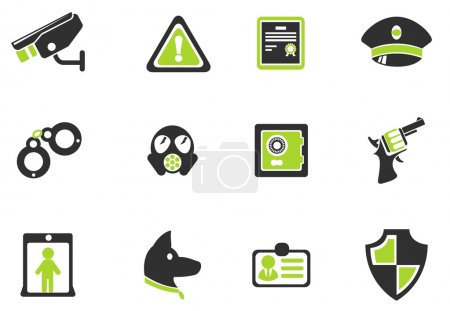 Illustration for Security symbols - Royalty Free Image