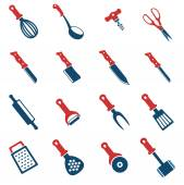 Kitchen tools simply symbol for web icons