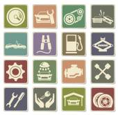 Auto Service Icons in eps 10