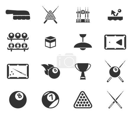 Billiards simply icons...
