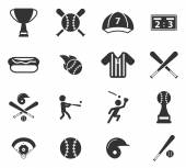 Baseball jednoduše ikony