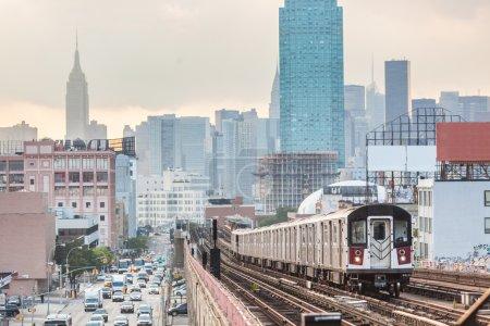 Subway Train in New York