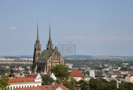 Peter and Paul cathedral in Brno