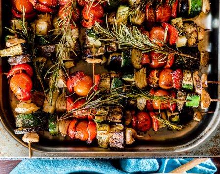 hot grilled skewers