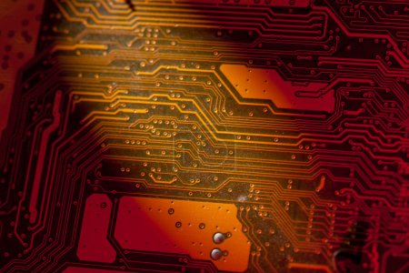 Photo for Abstract circuit board texture - Royalty Free Image