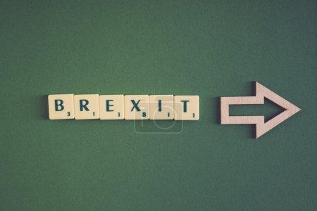 Brexit lettering Text