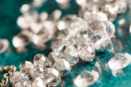 Beautiful shiny diamonds