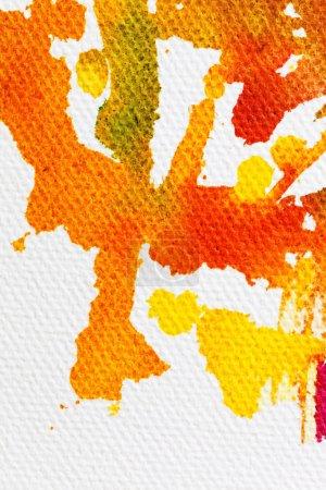 abstrakte Figurenskizze in leuchtenden Farben