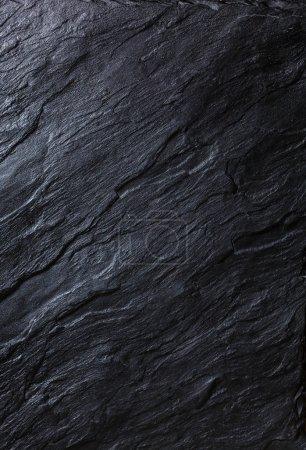 Photo pour Pierre noire texture fond - image libre de droit