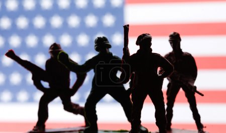 American toy soldiers