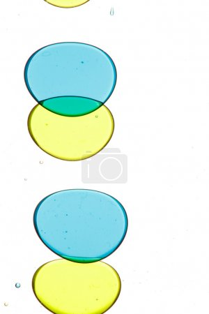 Colorful oil bubbles