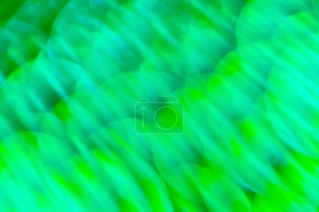 Abstract green color lights