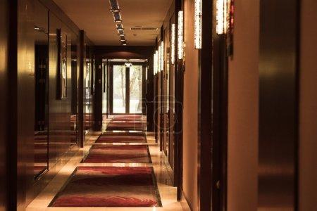hotel corridor apartment