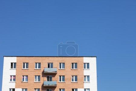Brick wall building