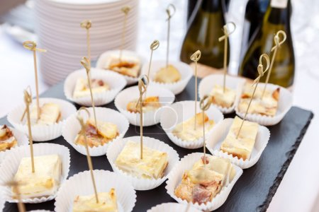 catering food for guests