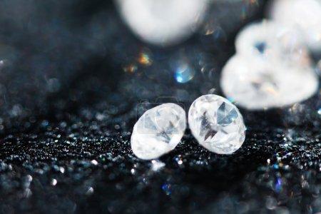 crystal diamonds background
