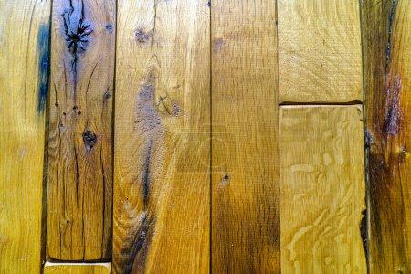 Photo pour Vieux planches en bois fond - image libre de droit